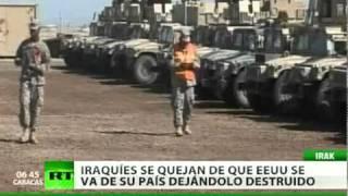 ¿Qué se logró con la guerra? Un débil e inestable Irak es lo que dejan las tropas de EE. UU.