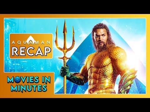 AQUAMAN In 4 Minutes (Movie Recap)