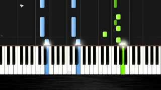Ariana Grande - Santa Tell Me - Piano Cover/Tutorial by PlutaX - Synthesia