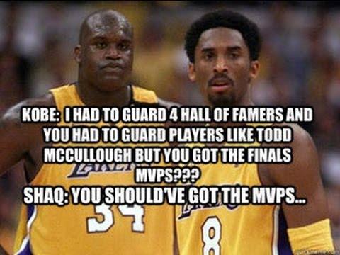 Shaq's 3 NBA Finals MVPs Debunked!!! Proof That Kobe DID More!!! - YouTube