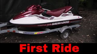 Yard Sale Jet Ski Repair and Ride,  part 2