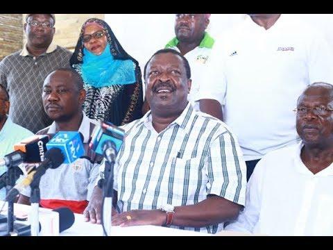 """It was nothing but a PR prank."" - Musalia Mudavadi tears into Uhuru and Raila's meeting"