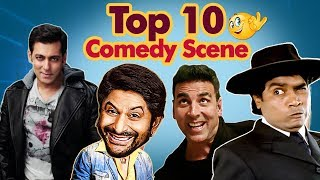 Top 10 Comedy Scenes (HD) Ft - Arshad Warsi - Johnny Lever - Salman Khan - Shemaroo Bollywood Comedy