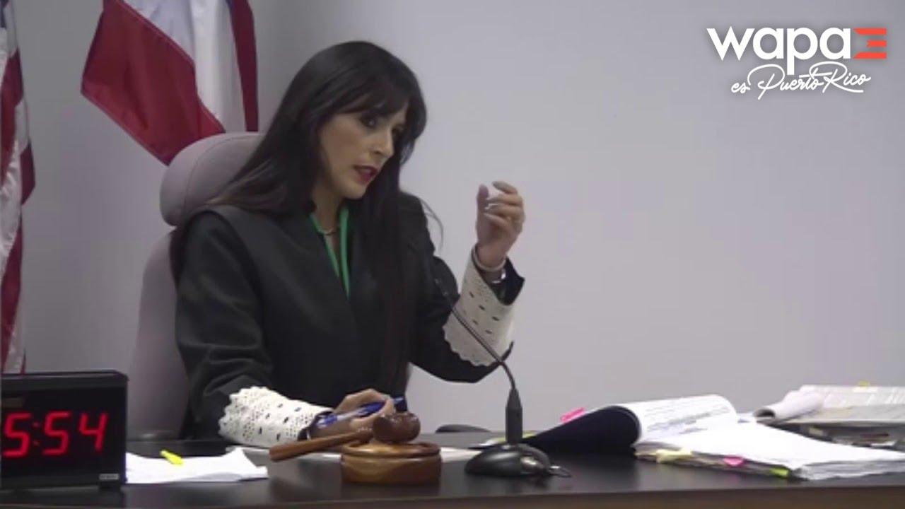 Testimonio de la primera testigo en caso O'Neill