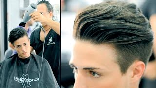 Disconnected Undercut - Haircut and Style (Actual Haircut Footage)