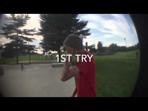 Logan Sharp and Drew Justice - Paris ky skatepark