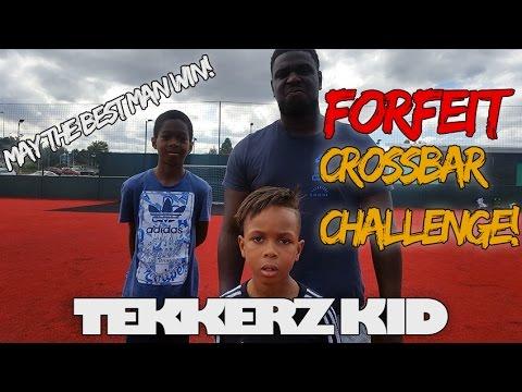 Forfeit Crossbar Challenge Vs Romello & The Dad| Tekkerz Kid