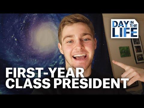 Quinnipiac Day in the Life: Freshman Class President