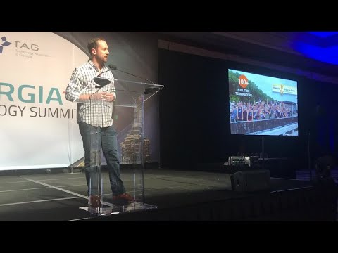 Terminus CEO & Co-Founder Eric Spett at the TAG Technology Summit 2017