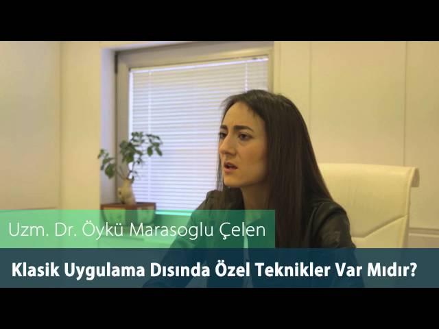 Dr.Öykü Maraşoğlu Çelen - Botoks / Klasik Uygulama Dışında Özel Teknikler Var mıdır ?