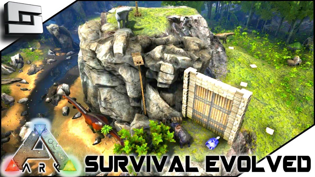 Ark Survival Evolved Wooliam Shatner And New Base S Doovi