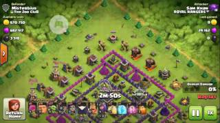 Great loot for TH9 in COC|clash of clans|clash o rama series.