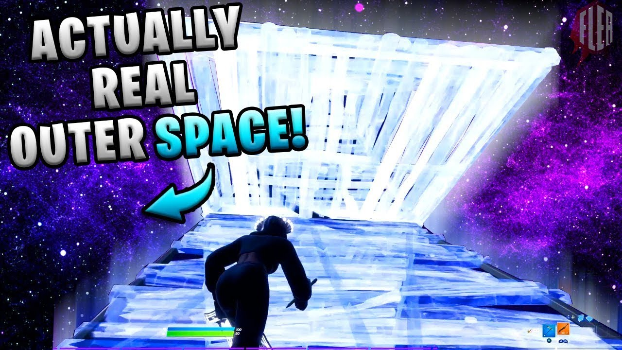 How To Build In Outer Space New Setting Fortnite Youtube