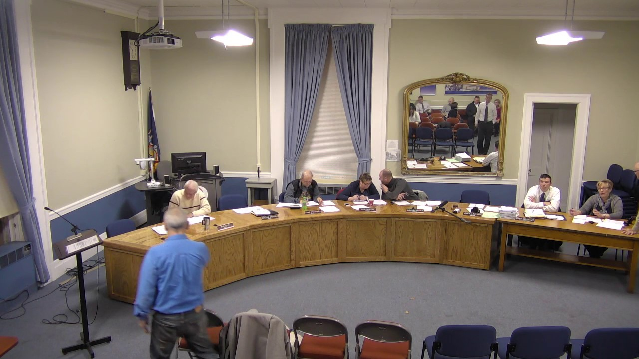 City of Plattsburgh, NY Meeting  11-17-16