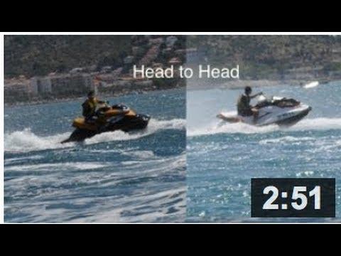 Sea Doo Gti 130 >> Sea Doo GTI 130 and RXP 215 performance test - YouTube