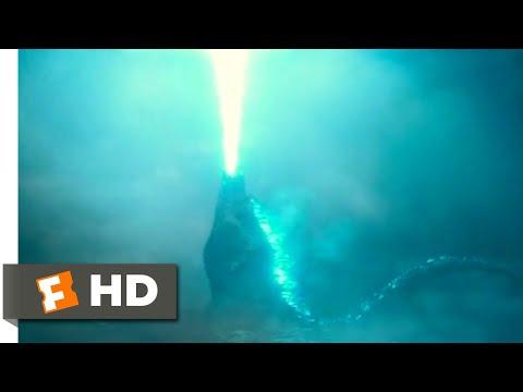 Godzilla: King of the Monsters (2019) - Godzilla Rises Scene (6/10) | Movieclips