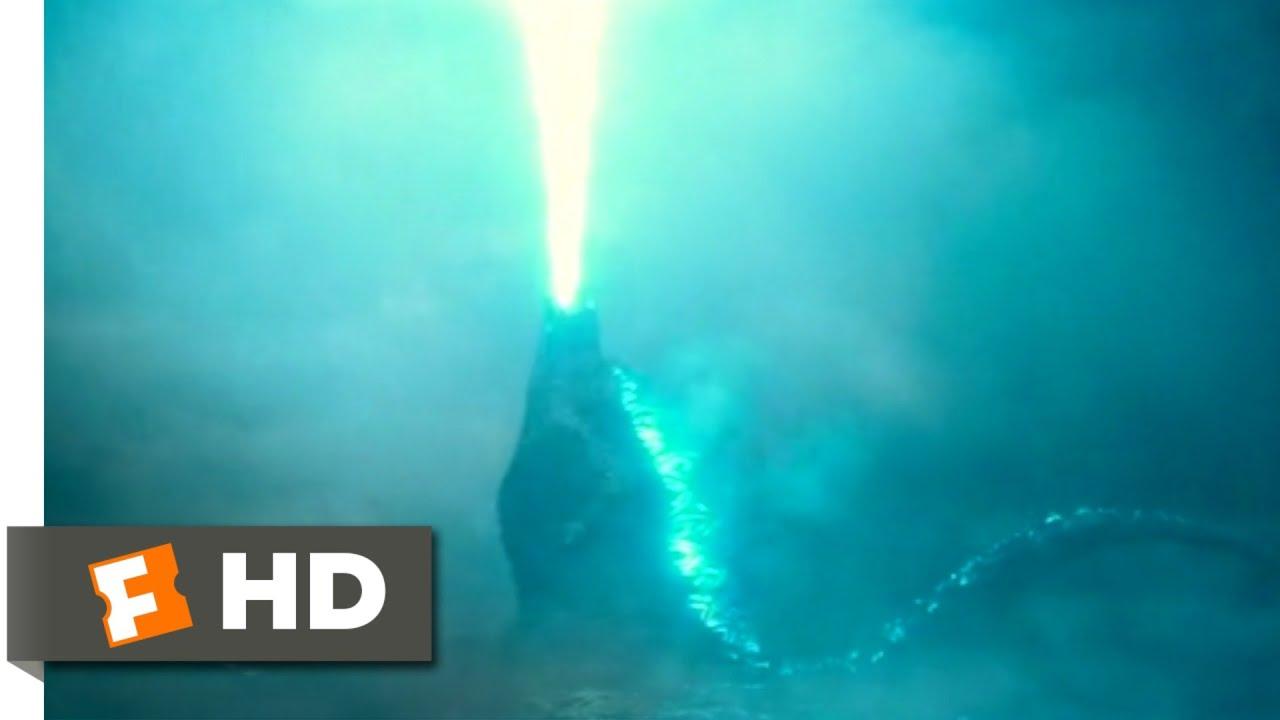 Download Godzilla: King of the Monsters (2019) - Godzilla Rises Scene (6/10) | Movieclips