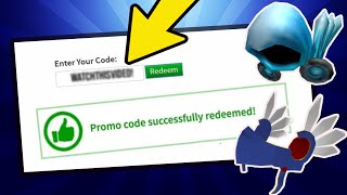 *AUGUST* ALL WORKING PROMO CODES ON ROBLOX 2019| ROBLOX PROMO CODE
