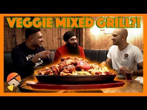 Mr Singh's Veggie Mixed Grill?! | Food Vlog