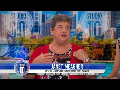 Janet Meagher Awarded Australian Mental Health Prize  | Studio 10