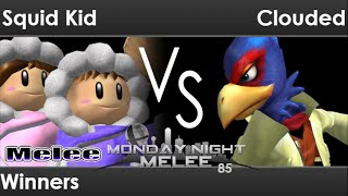 MNM 85 - .cde | Squid Kid (ICs) vs AWOL | Clouded (Falco) Winners - Melee