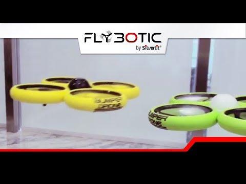 FLYBOTIC BUMPER DRONE - DRONE TELECOMMANDE PAR SILVERLIT - DEMO JOUET