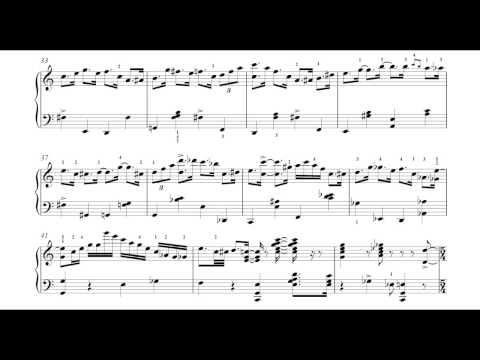 Happy Birthday, piano by Denis Matsuev. FULL SCORE