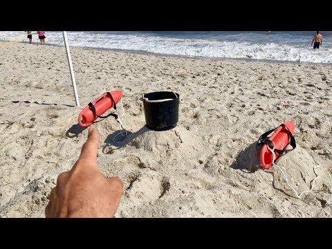 A Day In The Life Of An OCEAN LIFEGUARD!