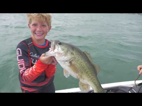 Lake Amistad Big Bass Fishing  With Tyler & Clark Stephens - Bloopers At The End!