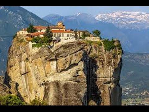 The Meteora Monasteries , Greece