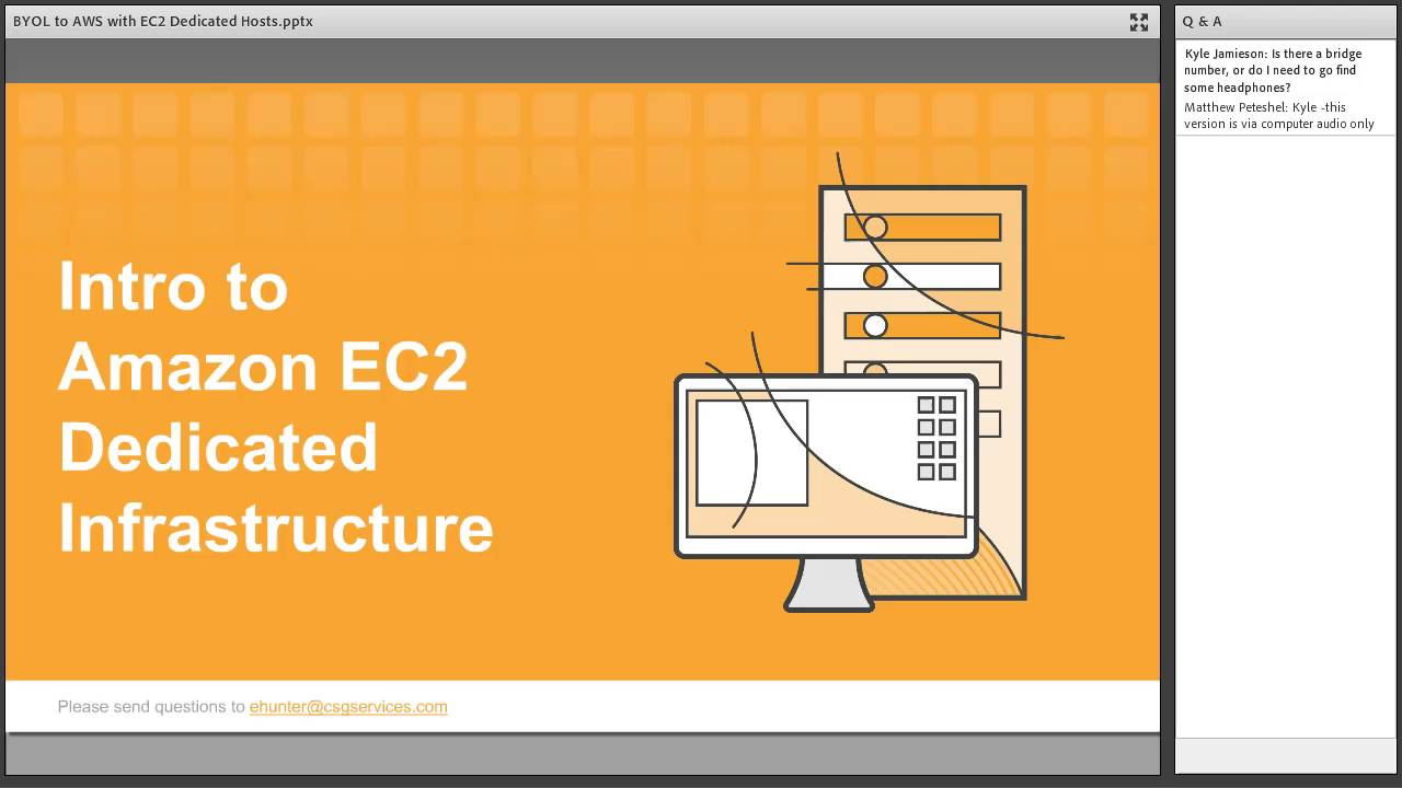 BYOL to AWS with EC2 Dedicated Hosts