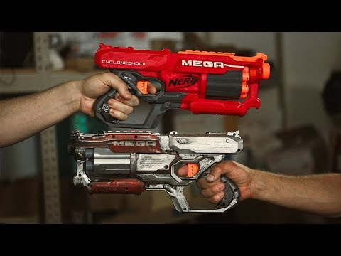 Modding Nerf Guns into Overpowered Blasters