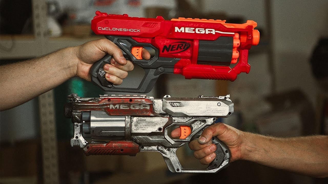Modding Nerf Guns Into Overpowered Blasters Youtube