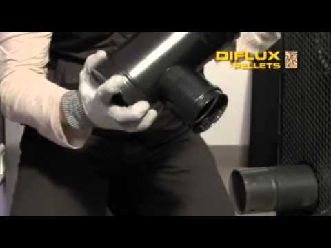 Diflux pellets dinak le conduit de fum es concentrique for Probleme poele a granule