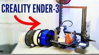 CREALITY ENDER-3, la meilleur imprimante 3D pas cher au monde!!!