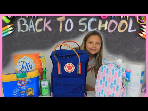 WHATS IN MY BACKPACK? 2019 5th Grade School Supplies Haul