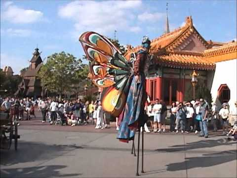 Epcot Chinese Performers- March 2000