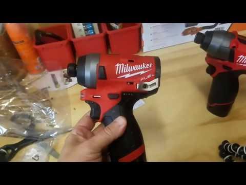 Milwaukee M12 Fuel Gen 2 Impact Driver Torture Test (2553)