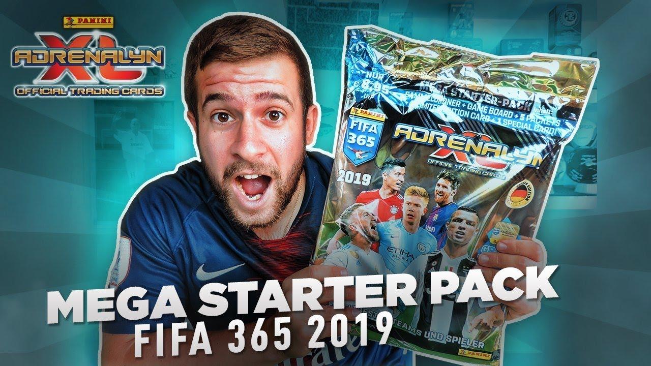 Panini Fifa 365 Adrenalyn Xl Trading Card Game 2019-Caja de 36 paquetes