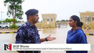 Cyclone Mekunu: Royal Oman Police update and warning
