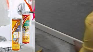 Использование герметика Sikaflex 11FC и клея Sikabond T2(С помощью клея Sikabond T2 Вы легко установите дома плинтус, а с герметиком Sikaflex 11FC сделать зазор между плиткой..., 2014-06-08T09:58:08.000Z)