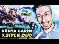 DÜNYA GAREN 1. SİYLE DUO / CHALLENGER ELO DERECELİ GAMEPLAY !! ( Lol Türkçe ) mp3