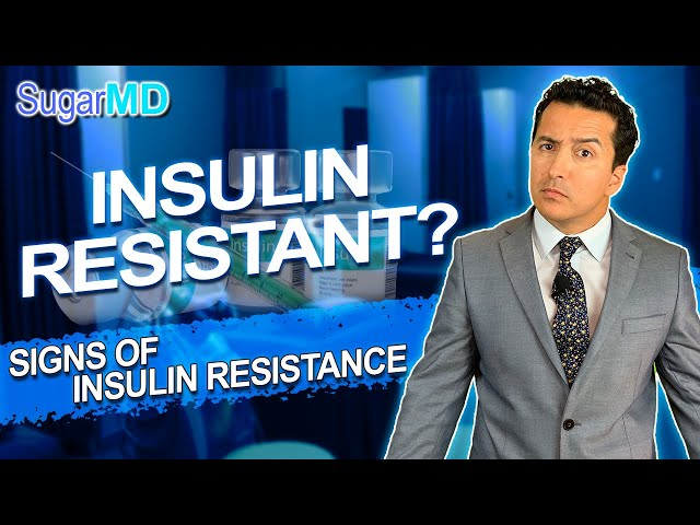 Top Symptoms & Signs of Insulin resistance & Metabolic syndrome!