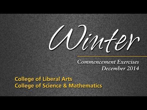 TU Winter Commencement 2014 - CLA & CSM