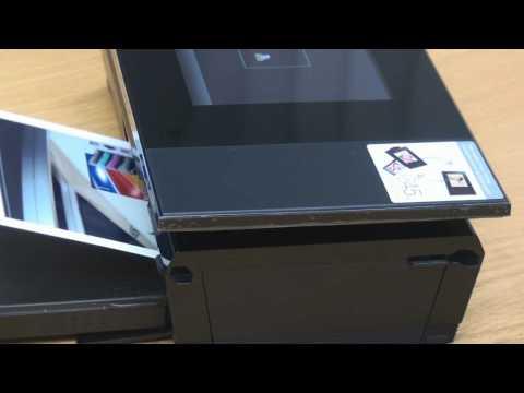 Sony DPP-F700 Print Demo