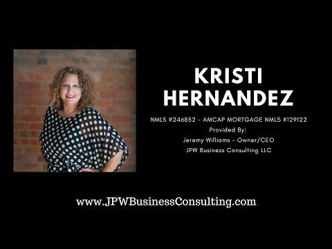 Kristi Hernandez of Amcap Mortgage Interviews with Jeremy Williams