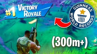 My LONGEST Snipe in Fortnite! Personal Record)