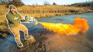 idiots-take-flamethrower-ice-fishing-bad-idea