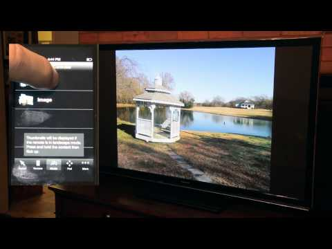 Stream Your  From iPhone To Panasonic Viera Plasma TC-P55UT50