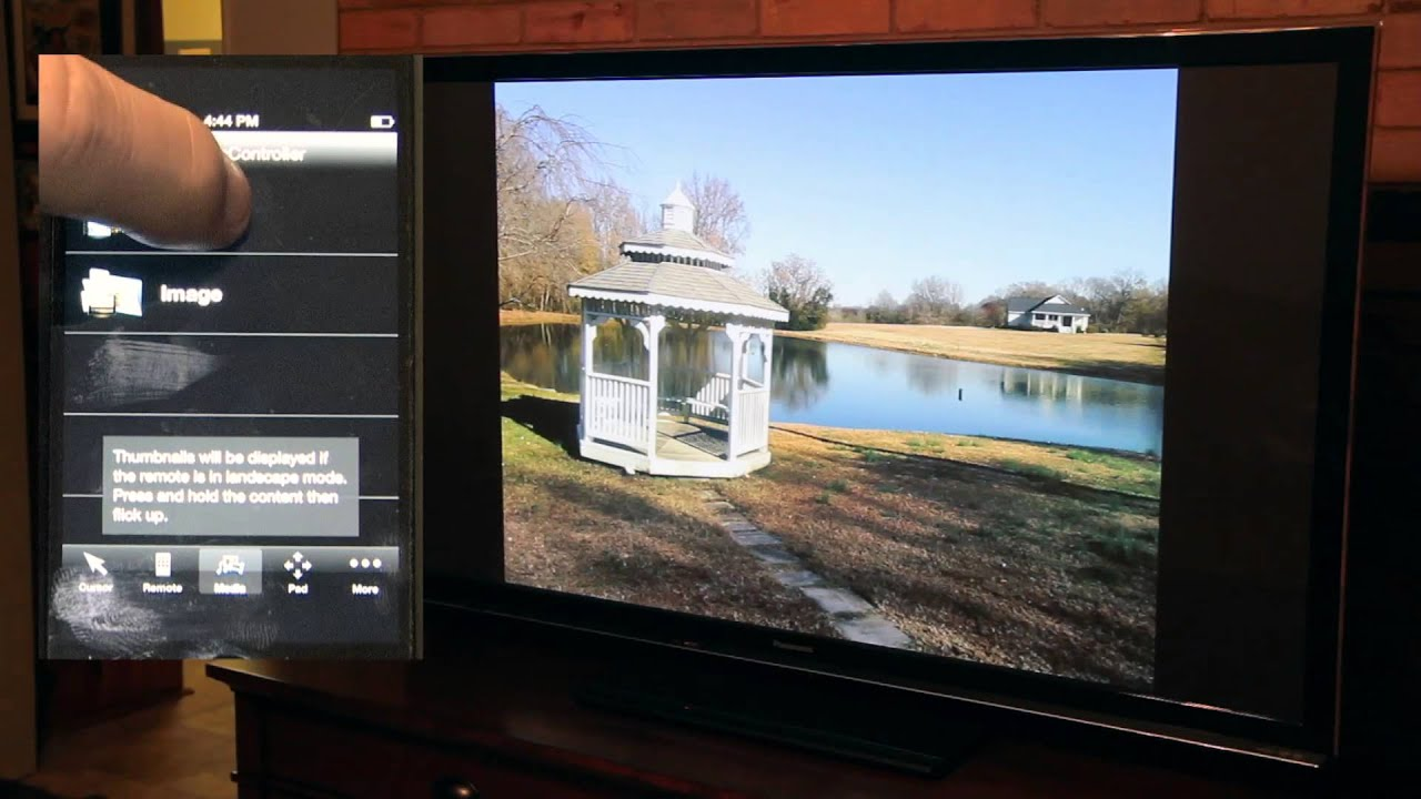 How to play movies from ipad to panasonic smart tv